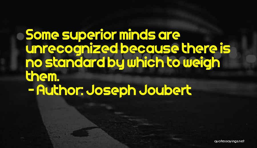 Genius Mind Quotes By Joseph Joubert