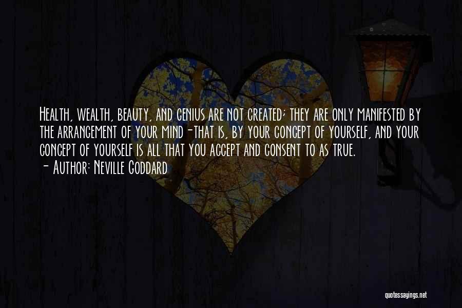 Genius Mind Quotes By Neville Goddard