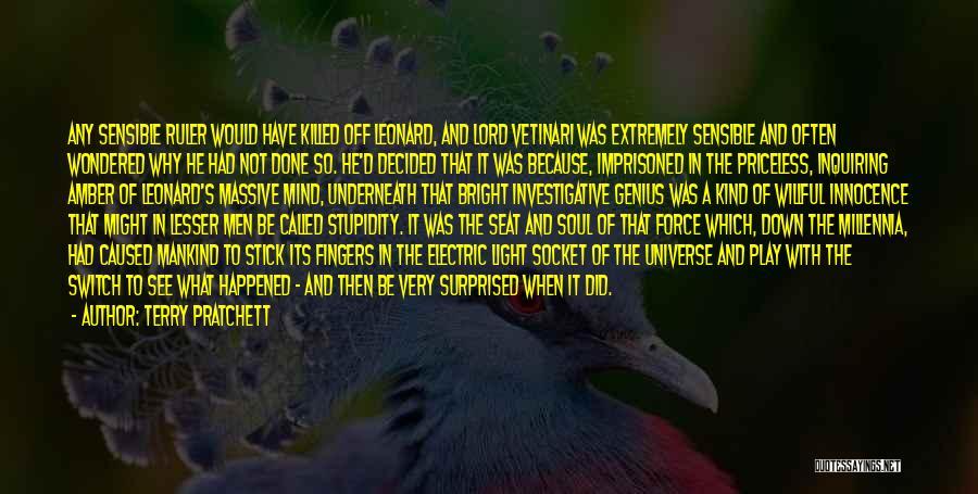 Genius Mind Quotes By Terry Pratchett