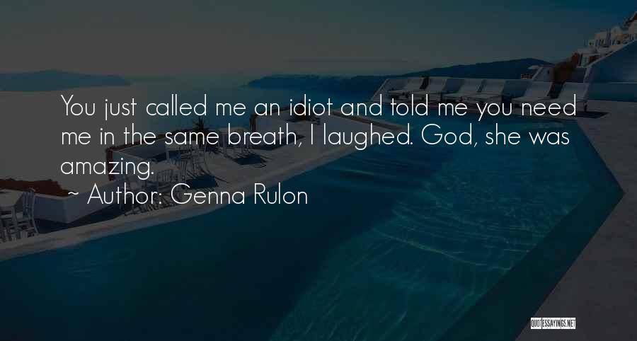 Genna Rulon Quotes 1434299