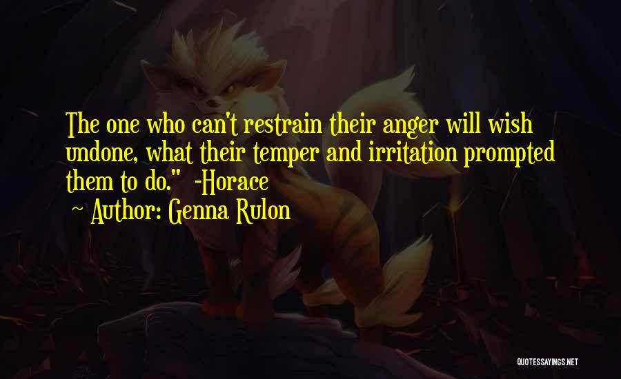 Genna Rulon Quotes 1611230
