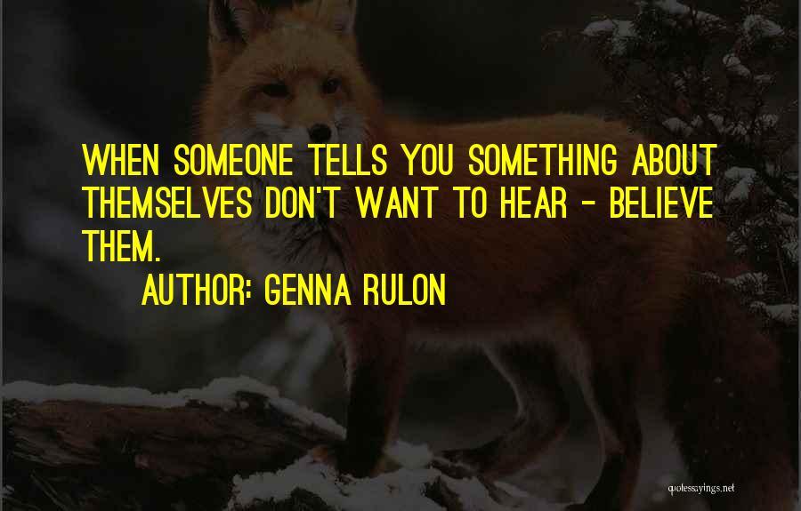 Genna Rulon Quotes 1847974