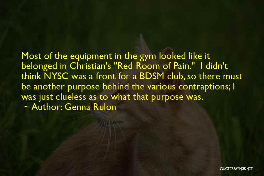 Genna Rulon Quotes 2109402