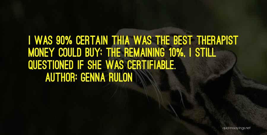 Genna Rulon Quotes 344606
