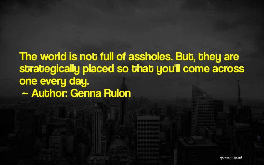 Genna Rulon Quotes 437798