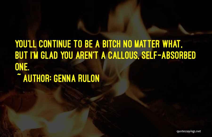 Genna Rulon Quotes 580180