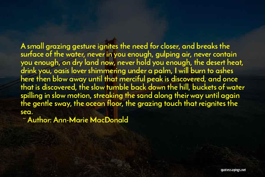 Gentle Lover Quotes By Ann-Marie MacDonald