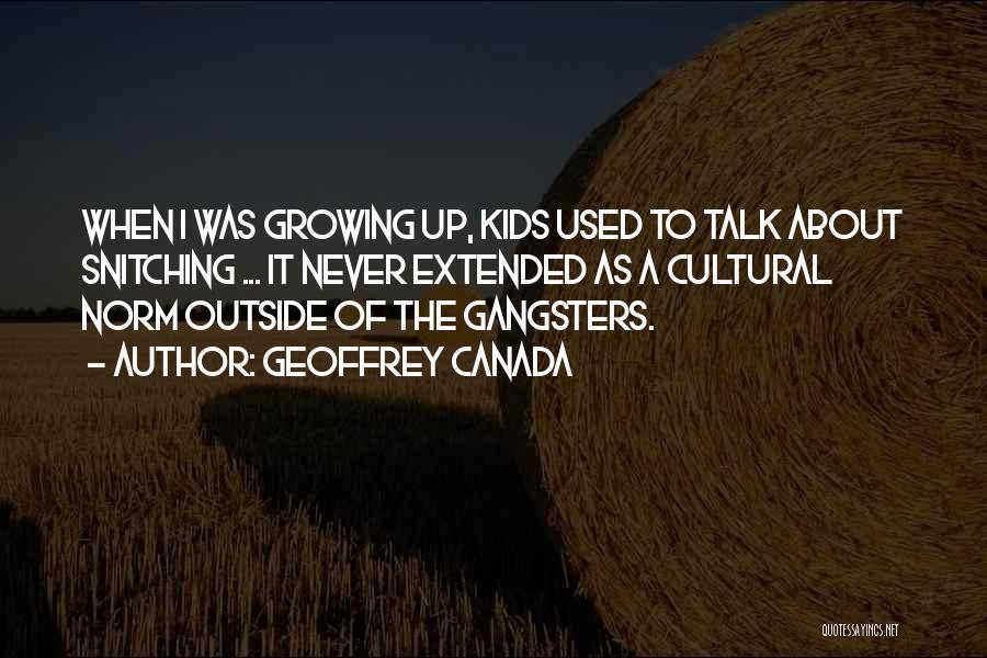 Geoffrey Canada Quotes 782457
