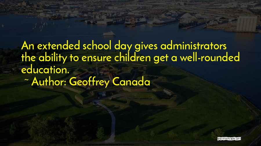 Geoffrey Canada Quotes 834852
