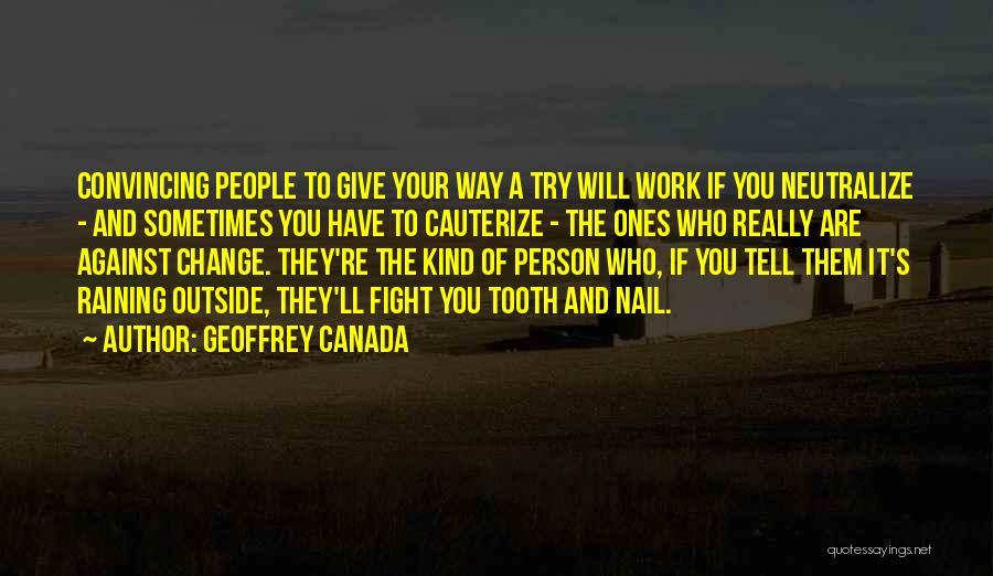 Geoffrey Canada Quotes 96264