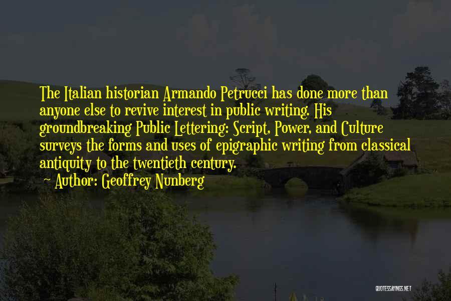 Geoffrey Nunberg Quotes 1387845