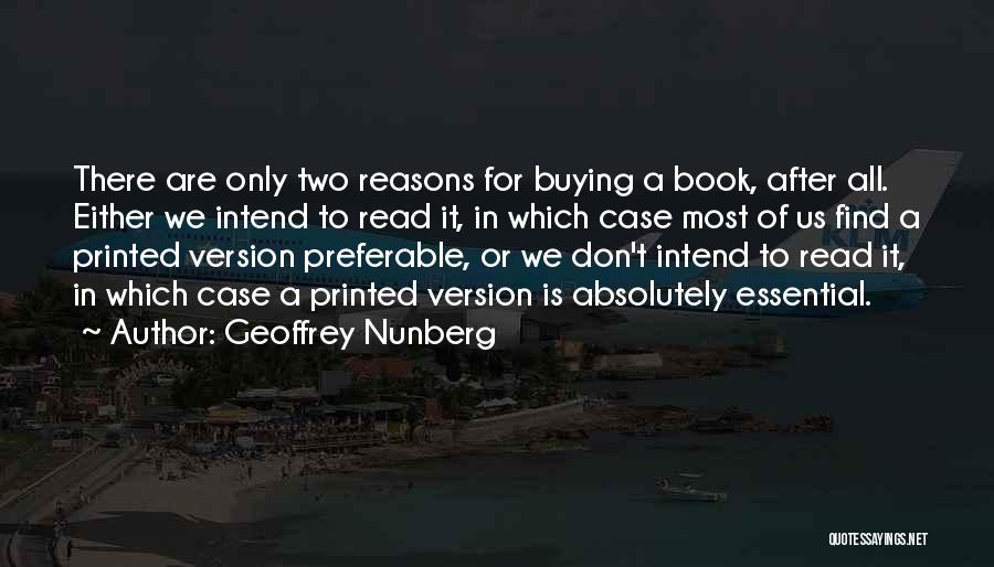Geoffrey Nunberg Quotes 2137034