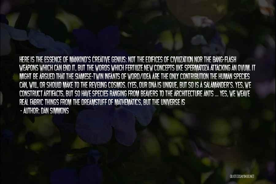Geometry And Architecture Quotes By Dan Simmons