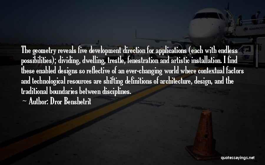 Geometry And Architecture Quotes By Dror Benshetrit