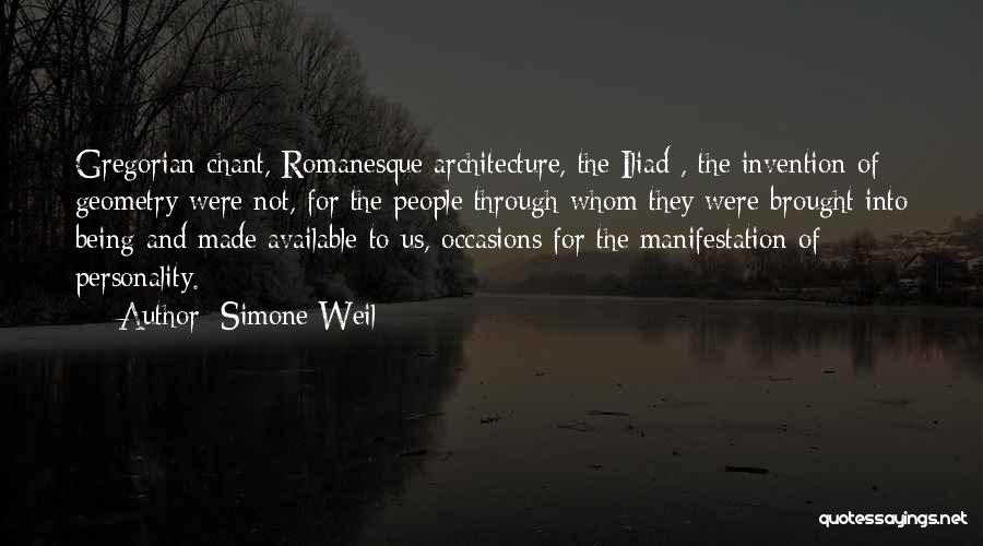 Geometry And Architecture Quotes By Simone Weil