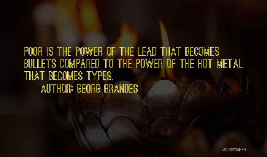 Georg Brandes Quotes 111775