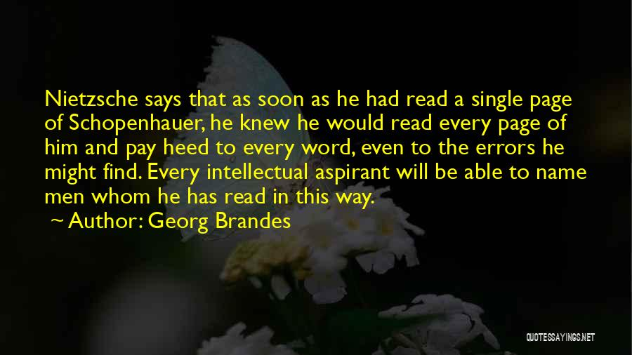 Georg Brandes Quotes 876827