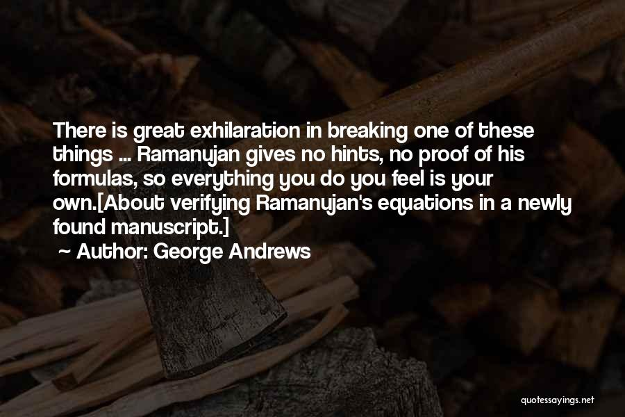 George Andrews Quotes 1959024