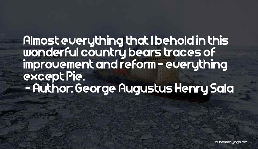 George Augustus Henry Sala Quotes 1958976