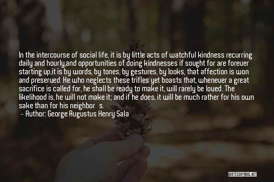 George Augustus Henry Sala Quotes 758874