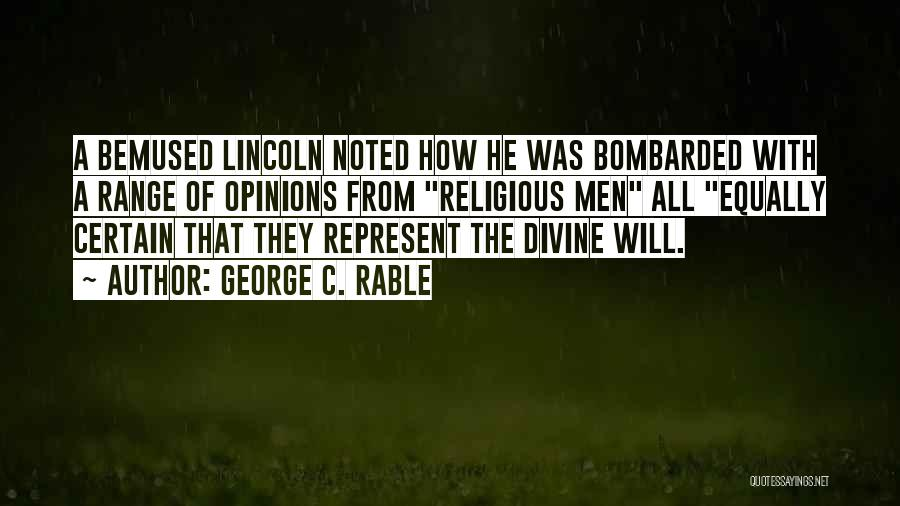 George C. Rable Quotes 234096