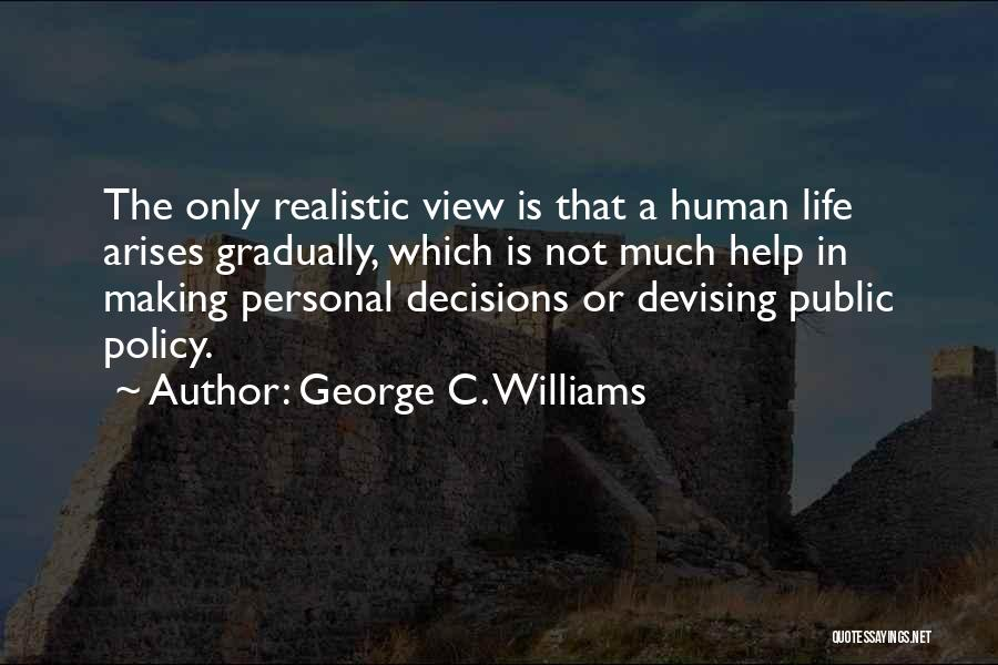 George C. Williams Quotes 2102231