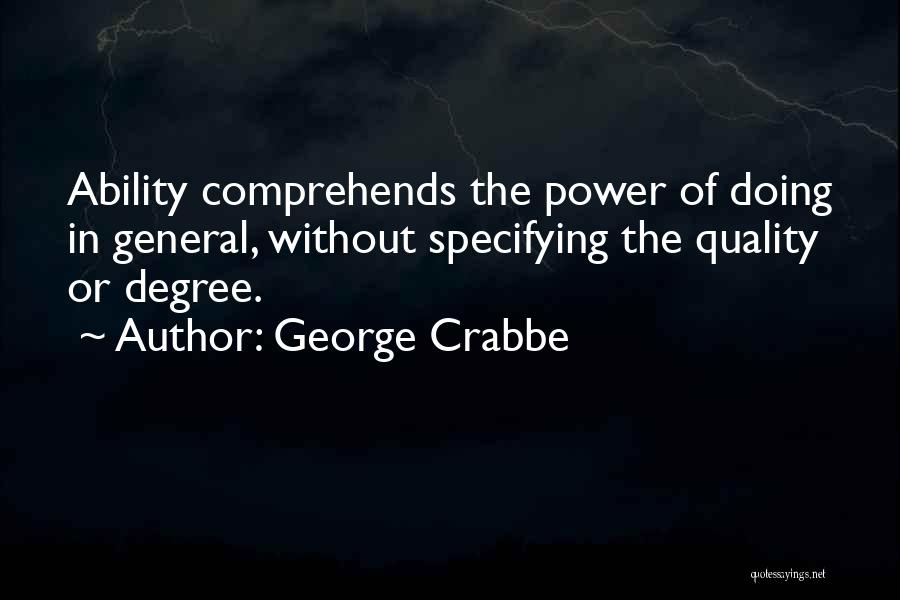 George Crabbe Quotes 1116840