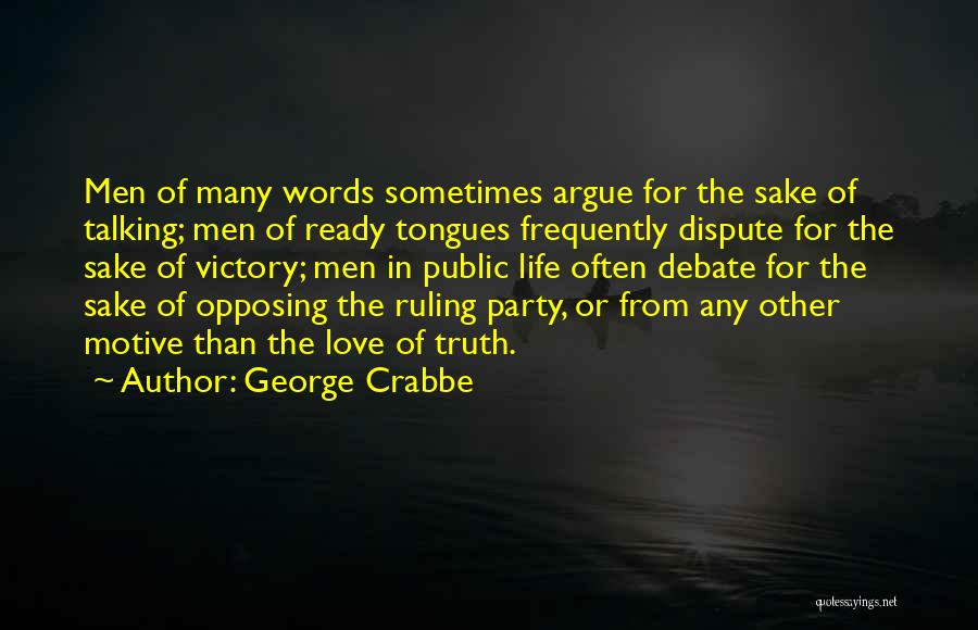 George Crabbe Quotes 117861