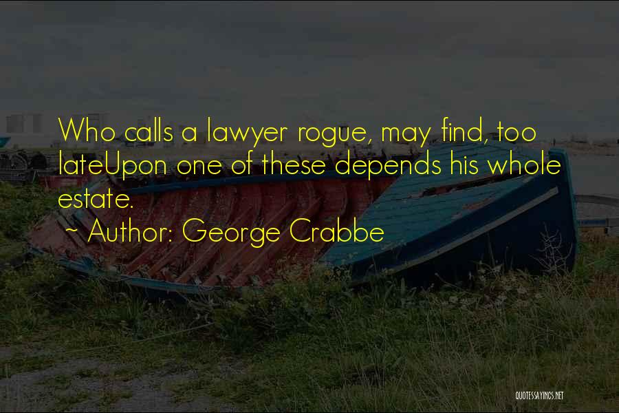 George Crabbe Quotes 1220401
