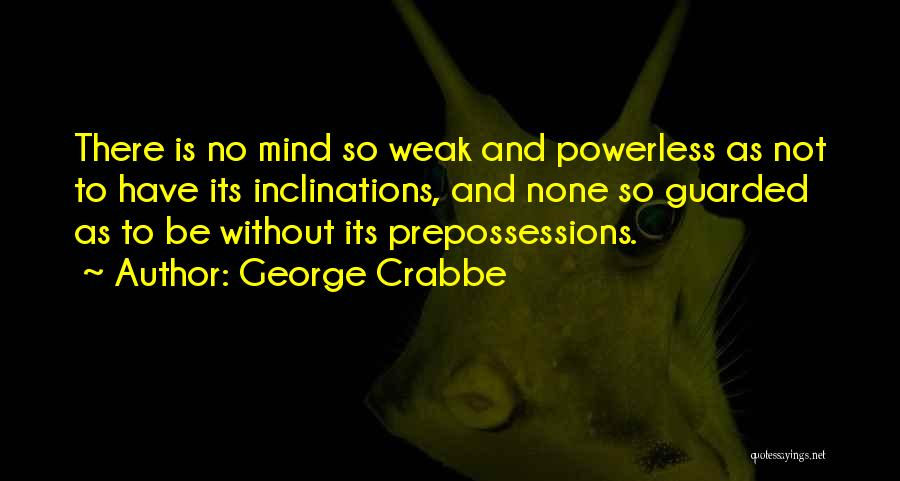 George Crabbe Quotes 1249619