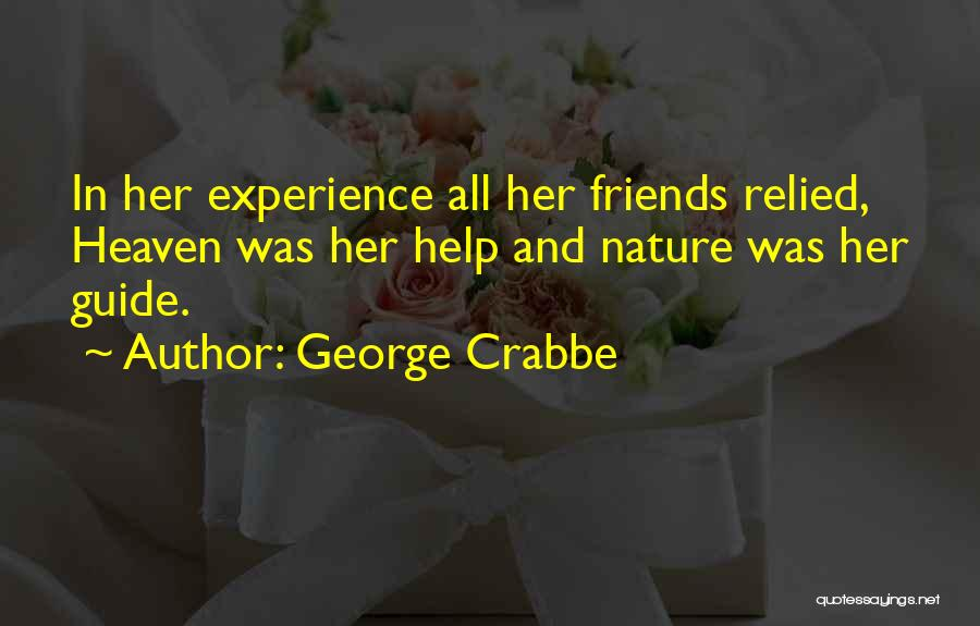 George Crabbe Quotes 1307817