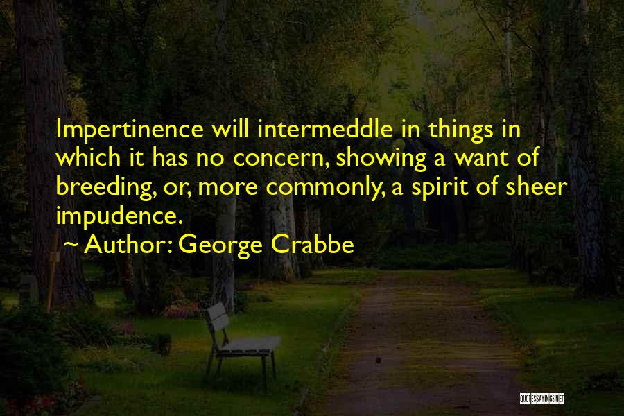 George Crabbe Quotes 1354493