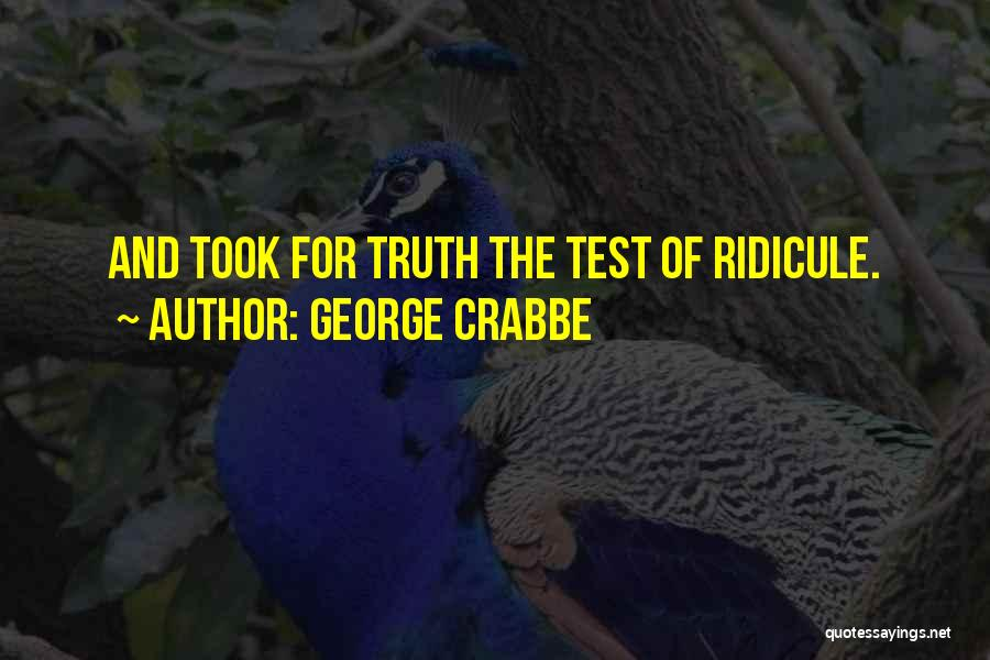 George Crabbe Quotes 149989
