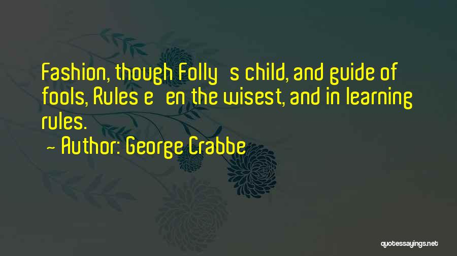 George Crabbe Quotes 1641507