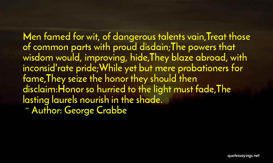 George Crabbe Quotes 1829607