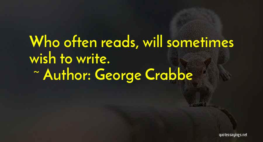 George Crabbe Quotes 2215789
