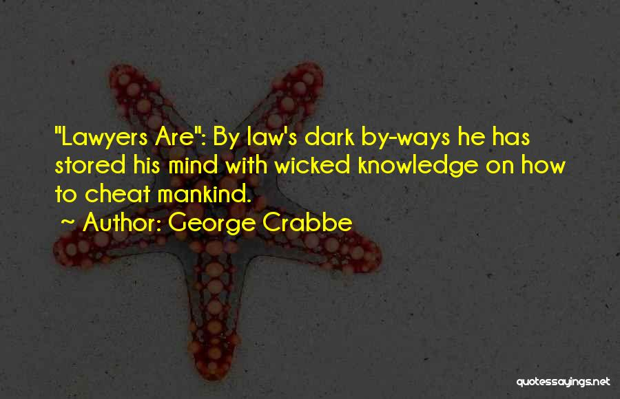 George Crabbe Quotes 307647