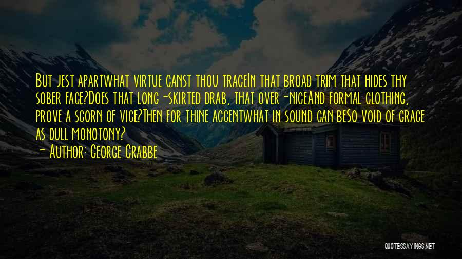 George Crabbe Quotes 587811