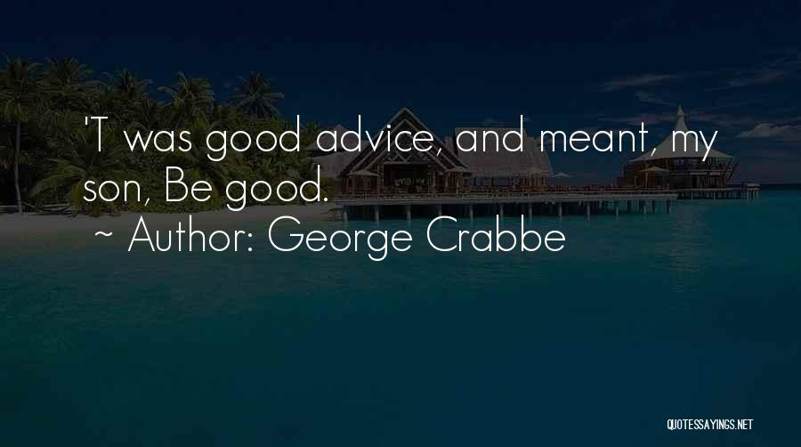 George Crabbe Quotes 892710