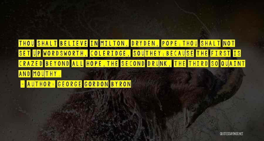 George Gordon Byron Quotes 1775407