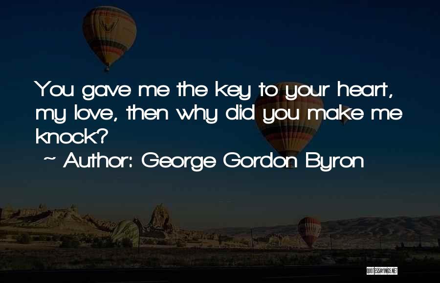 George Gordon Byron Quotes 779478