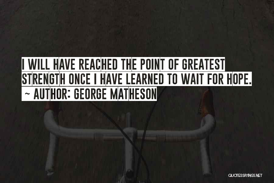 George Matheson Quotes 1086856