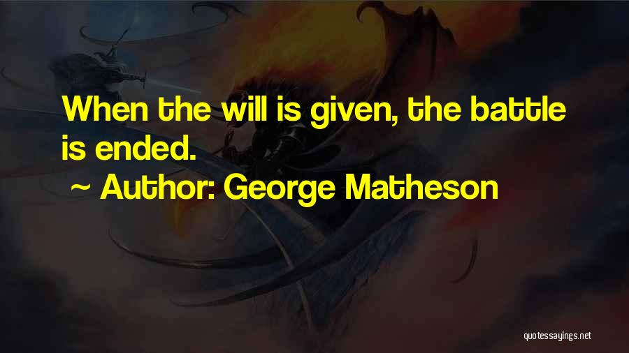 George Matheson Quotes 1789613