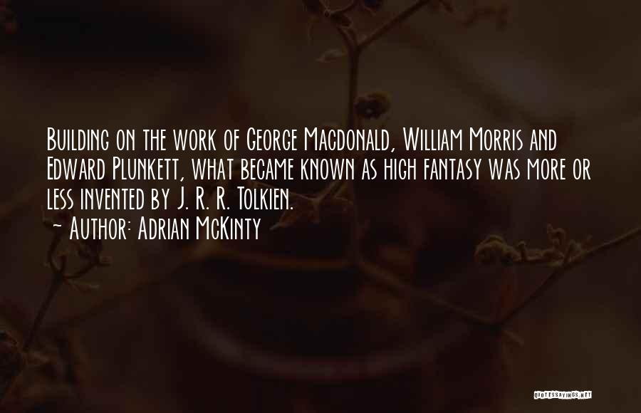 George Morris Quotes By Adrian McKinty