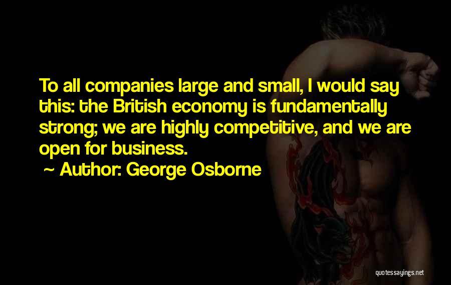 George Osborne Quotes 1086953
