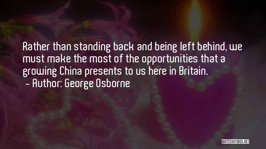 George Osborne Quotes 1233578