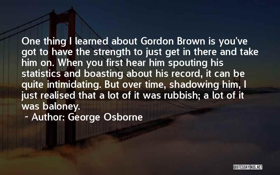 George Osborne Quotes 128318