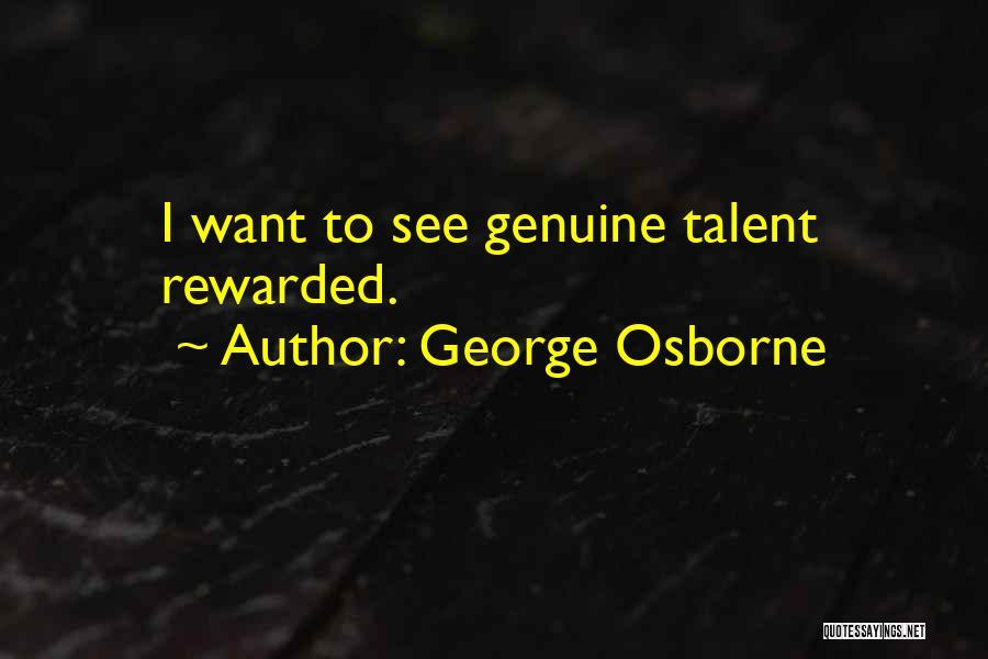 George Osborne Quotes 167037
