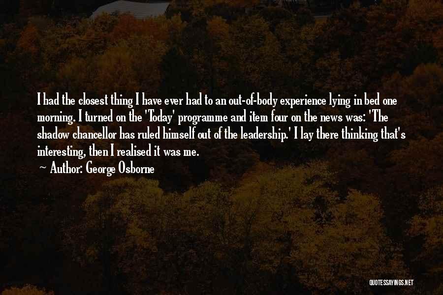 George Osborne Quotes 1724788