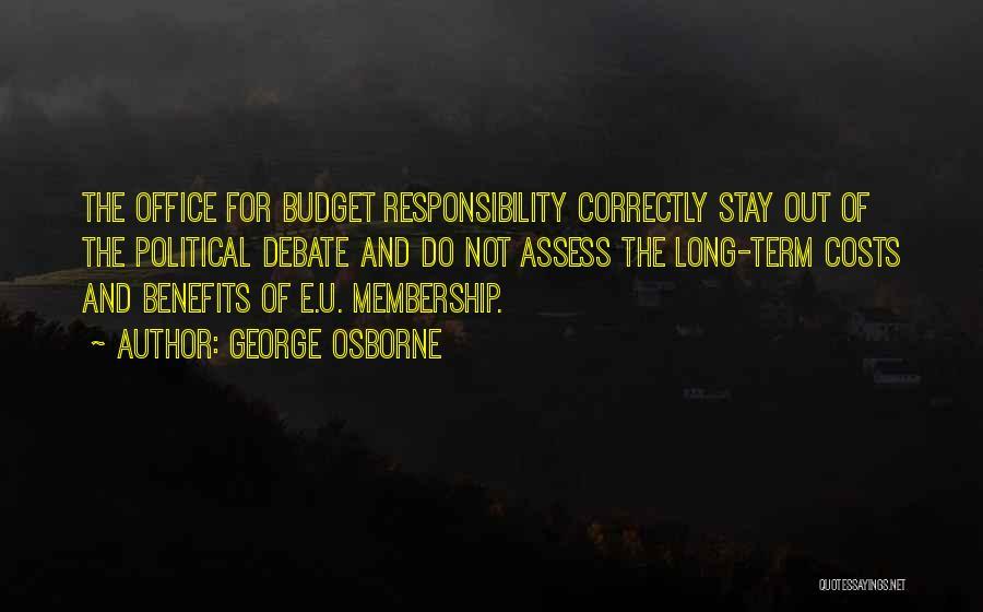 George Osborne Quotes 1957147
